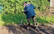 Сельчане в Могилевской области сами отремонтировали дорогу
