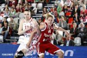 Белорусские баскетболистки с победы над сборной Великобритании стартовали на чемпионате Европы в Польше