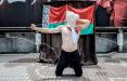 Художник в Токио посвятил свою акцию белорусским политзаключенным
