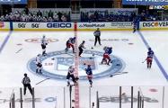 На первой секунде матча НХЛ произошла рекордная массовая драка
