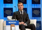 Медведев в Давосе говорил про «бред»
