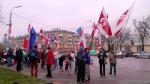 Первомай в Бресте - под национальными флагами