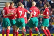 Сборная Беларуси занимает 40-е место в рейтинге Международной федерации футбола