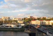 В Гродно более 1 000 человек прошли от Советской площади до вокзала (Видео)