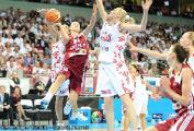 Баскетболистки сборной Турции вышли в полуфинал чемпионата Европы в Польше