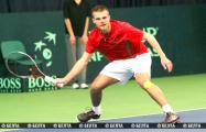 Белорус вышел в четвертьфинал турнира в Ираклионе