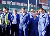 На время визита Лукашенко рабочих заперли в цехах
