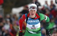 Дарья Домрачева заняла четвертое место в гонке преследования