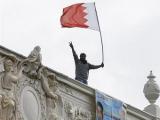В Лондоне демонстранты забрались на крышу посольства Бахрейна