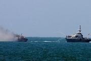 Синайские боевики запустили ракету в египетский военный корабль