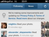 Instagram начнет обмен пользовательскими данными с Facebook