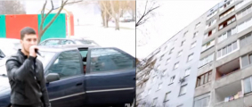 Минчанин устраивает концерты во дворах многоэтажек (Видео)