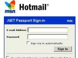 Хакеры взломали тысячи аккаунтов Hotmail