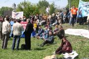 В Бресте люди вышли на улицы, несмотря на ОМОН