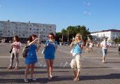 В Витебске на площадь Победы никого не пустили (Фото)
