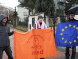 Акция солидарности с белорусскими политзаключенными в Праге (Фото)