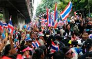 Многотысячные протесты в Таиланде продолжаются третий день подряд
