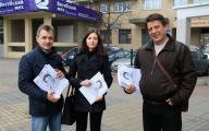 Активисты ОГП пригласили минчан на День Воли