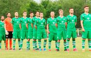 Футбольный клуб из Речицы поместил на логотип «Погоню»