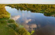 Возле Воложина насосная станция сбросила в реку химикаты