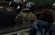 Белоруски на Марше в Куропаты поставили на место трусливых карателей