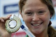 На чемпионате мира по плаванию Александра Герасименя заняла 5-е место на дистанции 50 м вольным стилем