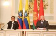 Лукашенко хочет через Эквадор реализовать потенциал Беларуси в Латинской Америке