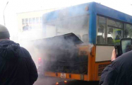 Видеофакт: В Могилеве горел рейсовый автобус