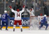 Белорусские хоккеисты проиграли в Париже в пятый раз, но разжились одним очком