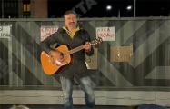 К жителям Новой Боровой приехал в гости музыкант Пит Павлов