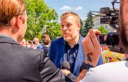 Адриан Зандберг: Мы с восхищением смотрим на то, что происходит в Беларуси
