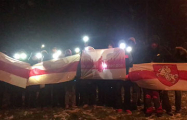 Военный городок Уручье вышел на вечернее шествие
