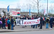 Фоторепортаж с митинга в Бобруйске