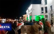 Белорусы напротив Дроздов: «Лукашенко в автозак!»