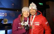 «Рождественская гонка»: Домрачева и Бьерндален заняли третье место в масс-старте