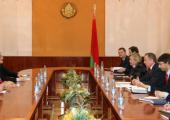 Макей обсудил с делегацией ЕС активизацию торгового сотрудничества