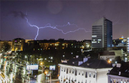 Фотофакт: последствия сильной грозы в Минске
