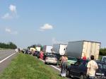 Из-за визита Путина перекрыли трассу Брест-Москва