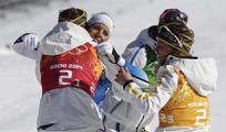 Историческая победа шведских лыжниц в Сочи