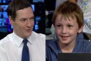 Школьник поставил в тупик канцлера британского казначейства
