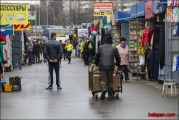 Рынок «Экспобел» работает, несмотря на запрет МЧС