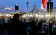 На площади Независимости традиционно поют «Тры чарапахи»
