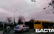 «Тихари» в панике убегают от людей на проспекте Рокоссовского