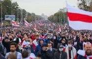 Фоторепортаж: Протестующие заняли проспект Независимости