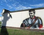 Уличный художник: Появится больше рисунков из истории Беларуси
