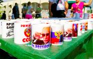 Фотофакт: На фестивале в Минске продают сувениры с Путиным