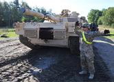 США разместят танки в Восточной Европе