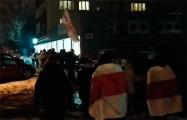 Некоторые районы Минска уже начали отмечать Новый год