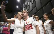 Сборная Беларуси по футболу проведет открытую тренировку с диджеем