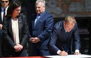В Гданьске бывшие президенты Польши подписали Декларацию свободы и солидарности